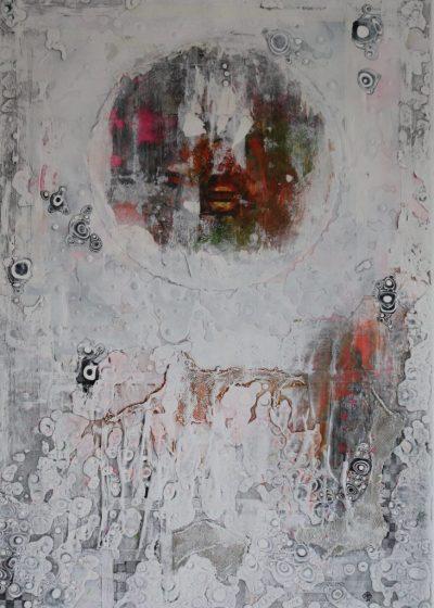 """""""Rough Trade"""" Acrylcollage (70x100cm)"""