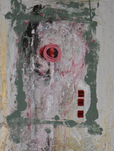 """""""Loop"""" Acrylcollage (60x80cm)"""