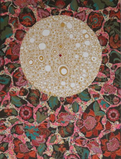 """Love"" Acrylcollage (60x80cm)"